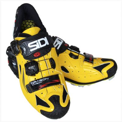 Sidi Dragon4 SRS CC Lucido Yellow/Black 43.5